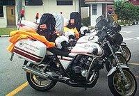 Fast Response Paramedic Bikes