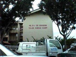 HQ 2nd Division Teluk Kurau Camp