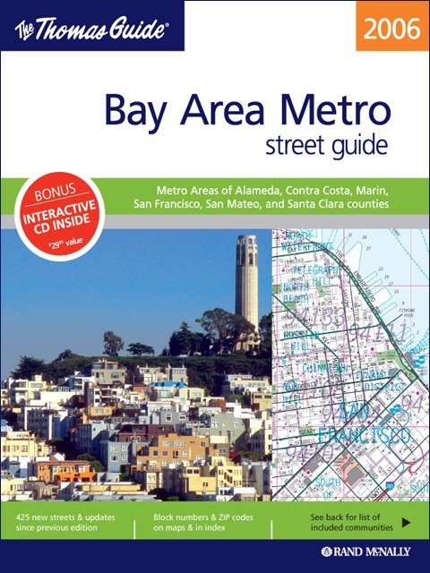 Easy To Fold Northern California Rand McNally Easyfinder