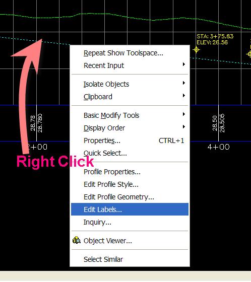 how to add alignment in profile civil 3ed