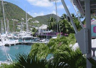 Soper's Hole marina, Tortola, BVI