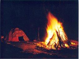 Inipi y Fuego Ritual