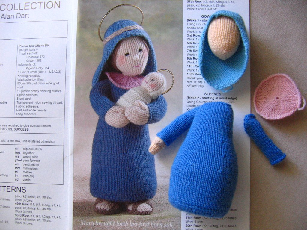 Knitted Nativity Scene Free Pattern : annypurls: Knitting (and other) miscellany