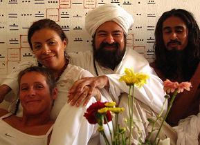 Helga, Mata Ji Fatima, Sheik GG:: and Swami Kauac