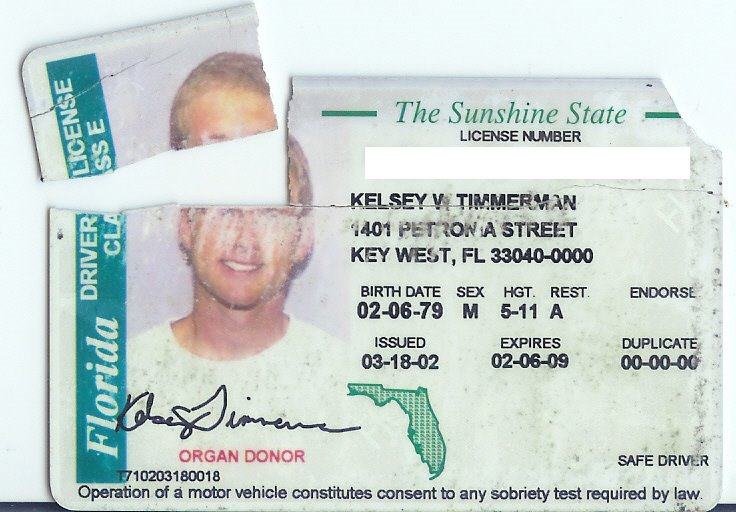 Touron talk goodbye key west hello ohio for When does fishing license expire