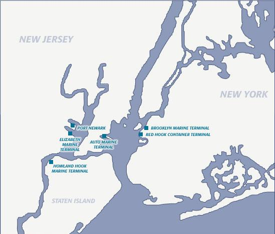 The johnsville news dp world us ports involved in controversy maps info