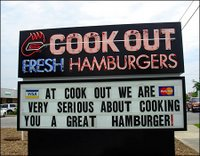 Cook Out Drive Thru