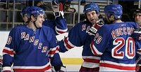 Rangers defeat Pens 3-1 in teams' final meeting of season