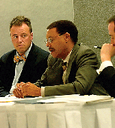 ACLU Panel Discussion - KC Johnson (left)