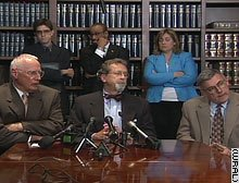 Defense attorneys for Duke lacrosse players hold press conference