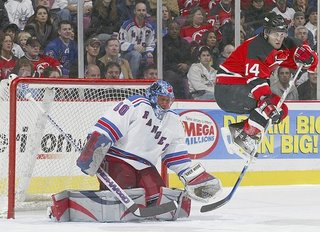 Rangers lose to Devils
