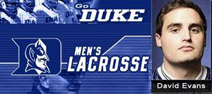 Duke Lacrosse Scandal - David Evans indicted
