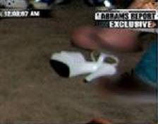accuser's shoe