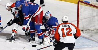 Flyers spoil Jagr's hat-trick