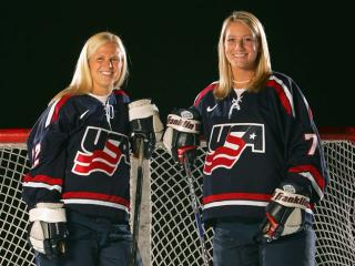 Former Minnesota Gophers Natalie Darwitz and Krissy Wendell lead USA Team