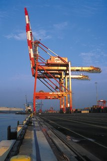 Crane at Port Newark Container Terminal