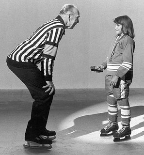 Red Storey & Lori Dupuis during 1983 commercial