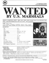 Wanted poster for Eddie Antar