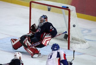 Slovakia hands U.S. its first loss 2-1