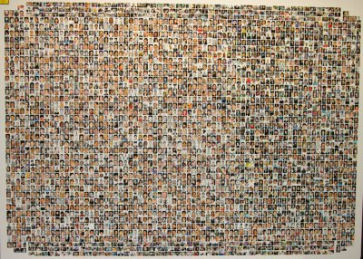 Collection of photographs of those killed (except for 92 victims) during the terrorist attacks on September 11, 2001