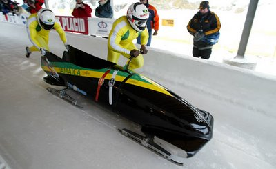 Jamaican Bobsled Team - The Hottest Thing on Ice