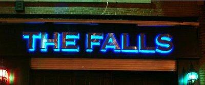The Falls - exterior sign