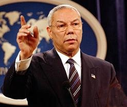 Colin Powell - former Sec. of State