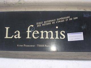 la femis ,ecole de cinema,paris 18,systaime,femis,la fémis,la F.E.M.I.S,cinema école paris,cinema,fémis,fémis,école nationale superieure des métiers de l'image et du son