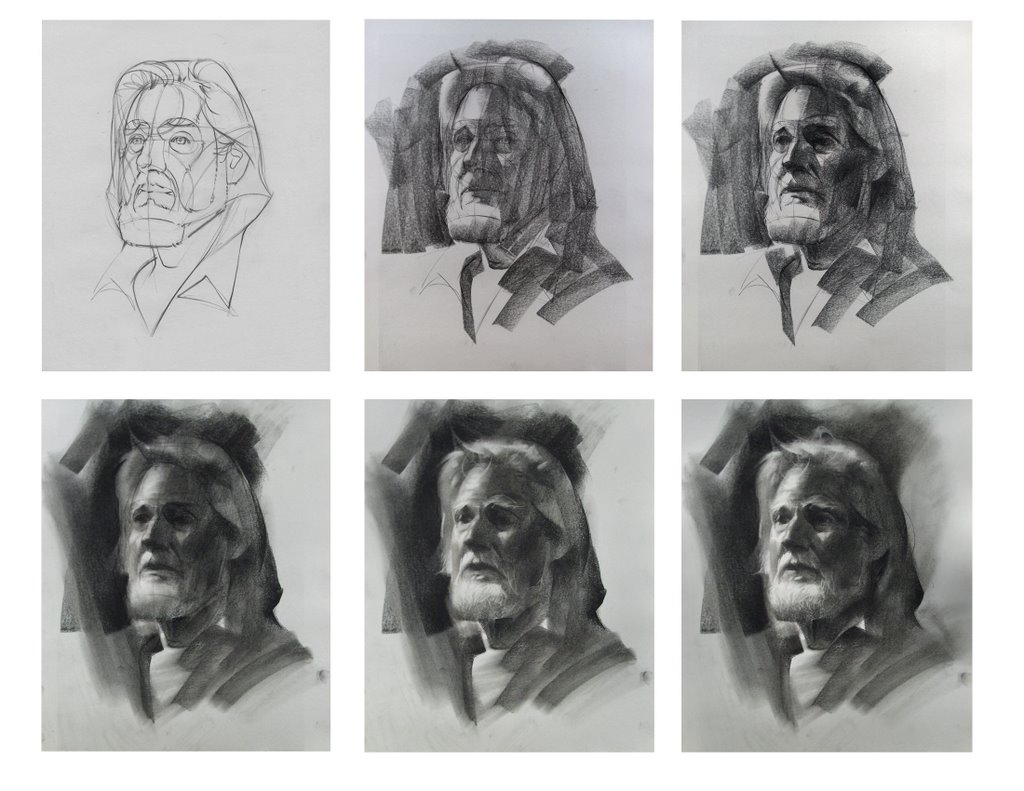 Charcoal Drawing Techniques - How to Draw with Charcoal