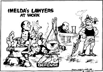 Editorial Cartoon January 16, 2000
