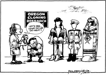 Editorial Cartoon January 17, 2000
