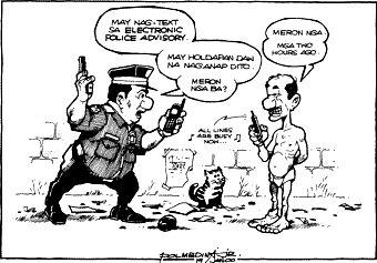 Editorial Cartoon January 19, 2000