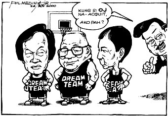 Editorial Cartoon November 30, 2000