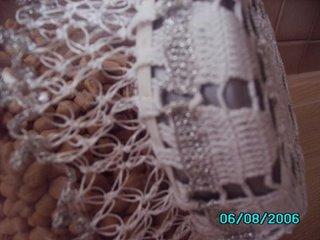 Kavanozlara dantel kapaklari