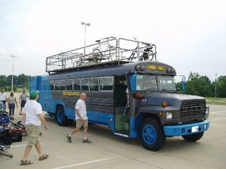 Superior Hawgs RAGBRAI Bus