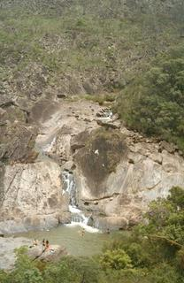 Enfim, cachoeira - não era cascata!