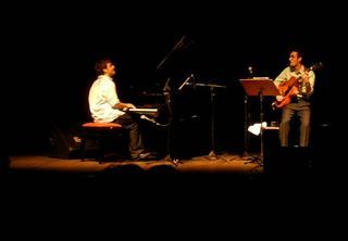 Taylor Eigst e Julian Lage em Ouro Preto, dia 16