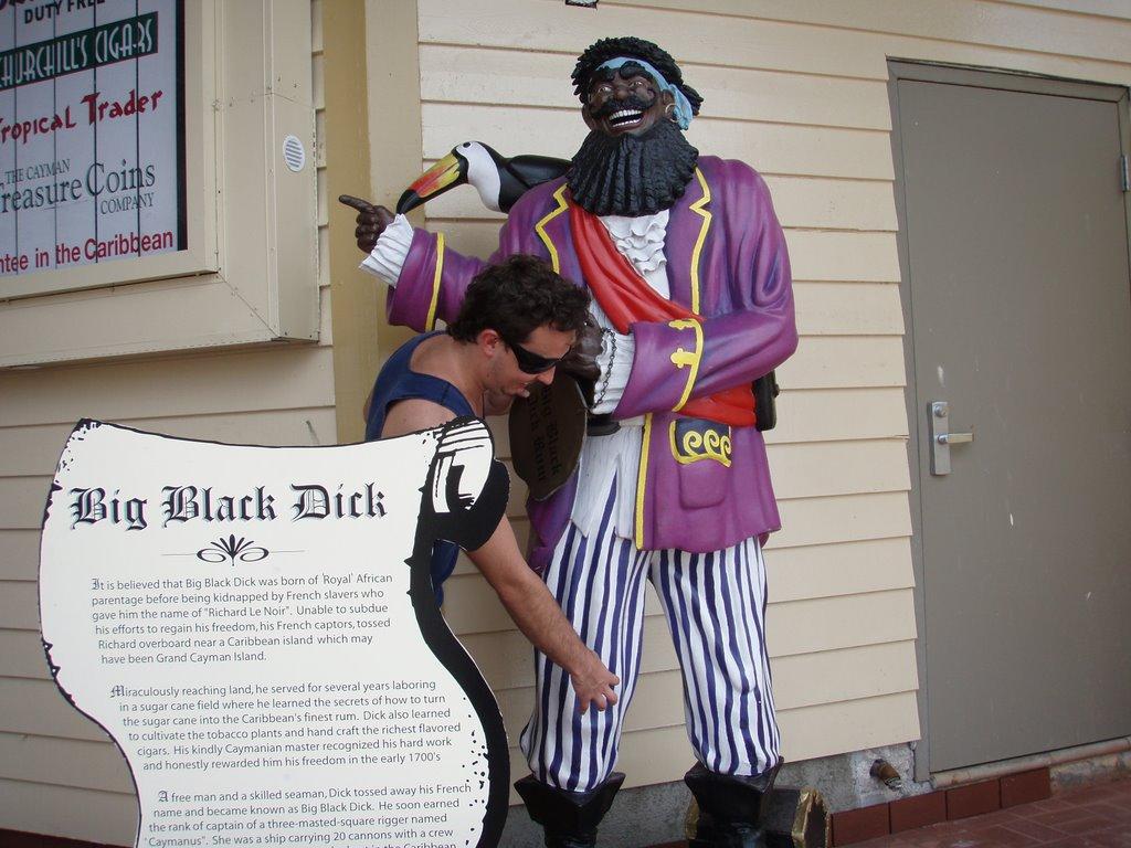 Think, that big black dick cayman islands consider