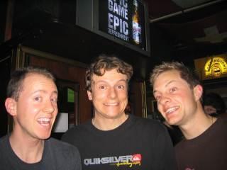 Yannick, Fabien, and Steve