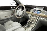 Lincoln MKS concept interior