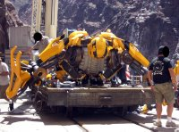 Transformers movie, Bumblebee in robot form
