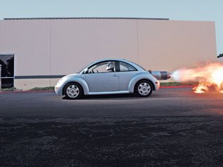 Beetle jet engine