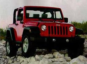 ACAtT scan of the 2007 Jeep Wrangler 2-door