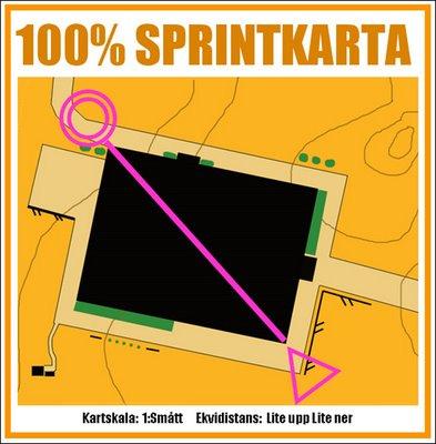 Funny orienteering maps