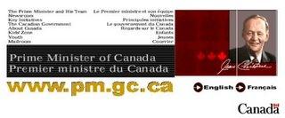 Prime Minister's website, September 26, 2001