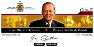 Prime Minister's website, November 22, 2002