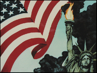 liberty burning