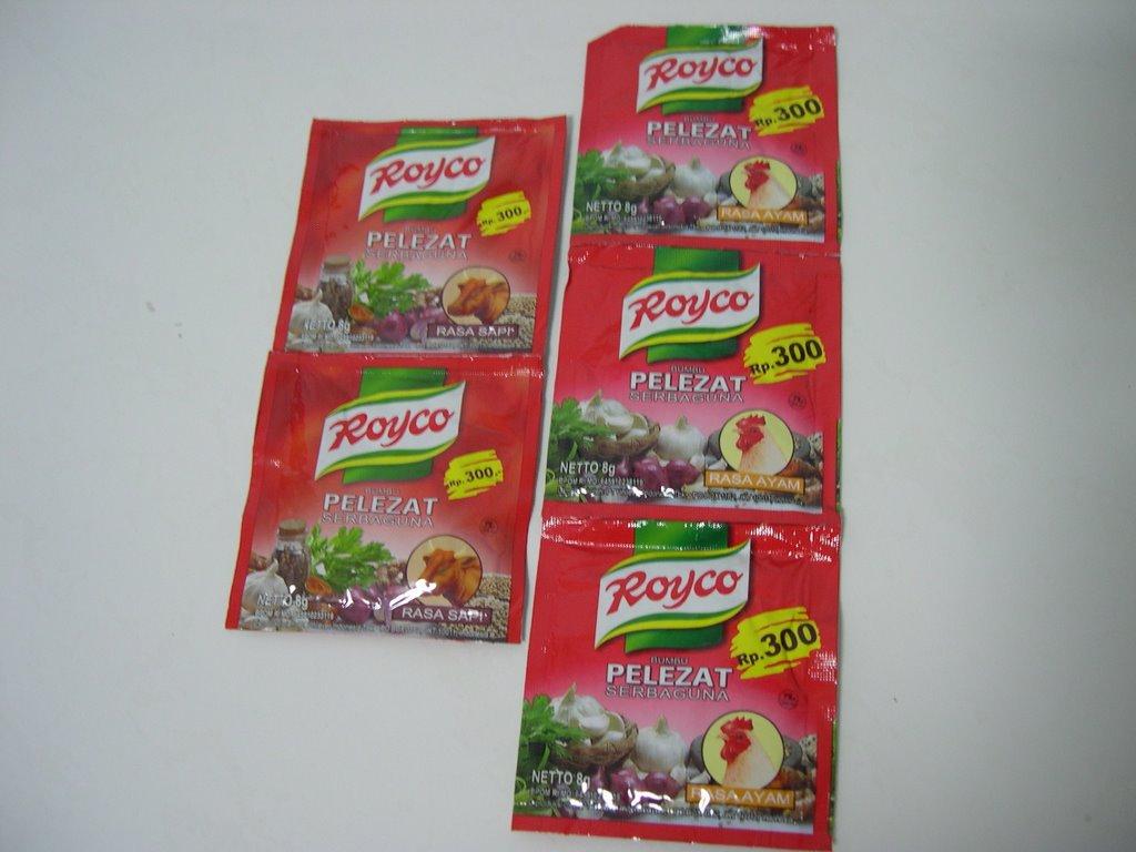 Royco rasa Sapi dan Ayam.. 8 gram @ S$0.25