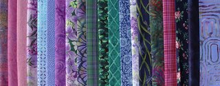 Boston commons quilt, fabric selection, photo by Robin Atkins, bead artist
