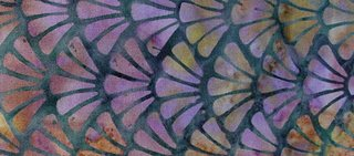 Purple Batik, Boston commons quilt, fabric selection, photo by Robin Atkins, bead artist